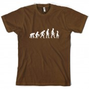 Evolution of Man Alien T Shirt