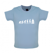 Evolution Of Man Brick Layer Baby T Shirt