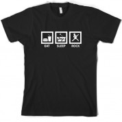 Eat Sleep Rock T Shirt