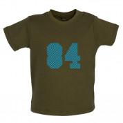 84 Electric Pin Stripe Baby T Shirt