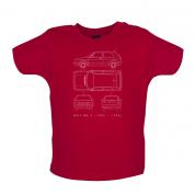 4 View Golf MK2  Baby T Shirt