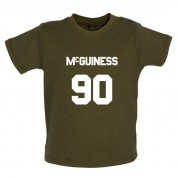 McGuiness 90 Baby T Shirt