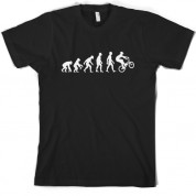 Evolution of Man BMX T shirt