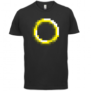 Retro Pixel Ring T Shirt