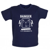 Danger Flux Capacitor Baby T Shirt