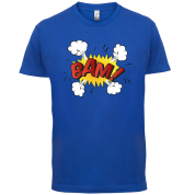 Bam! Word Art T Shirt