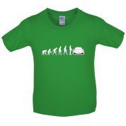 Evolution of Man 911 Driver Kids T Shirt