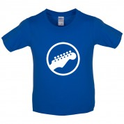 Guitar Headstock Kids T Shirt