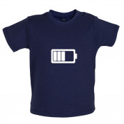 Battery Symbol Baby T Shirt