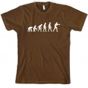 Evolution of Man Boxing T shirt