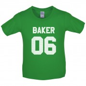 Baker 06 Kids T Shirt
