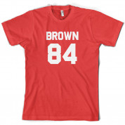 Brown 84 T Shirt