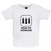 Maid of Honour Baby T Shirt