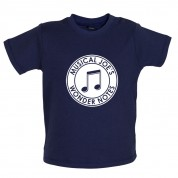 Musical Joe's Wonder Notes Baby T Shirt