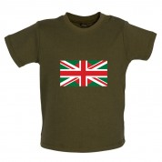 Bangladesh Union Jack Flag Baby T Shirt