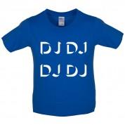 DJ DJ DJ DJ Kids T Shirt