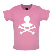 Dummy Crossed Bones Baby T Shirt