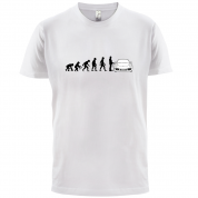 Evolution of Man 911 Driver T Shirt