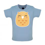 Smiley Face Mrs Owl Mrs T Shirt