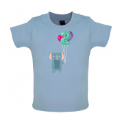 2nd Birthday Elephant Baby T Shirt