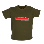 Health Bar We Can Kill It Baby T Shirt