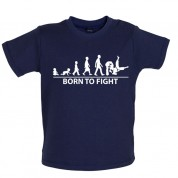Born to Fight Baby Judo T Shirt
