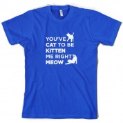 You've Cat To Be Kitten Me Right Meow T Shirt