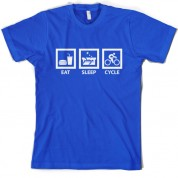 Eat Sleep Cycle T Shirt