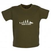 Born To Kart Baby T Shirt
