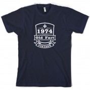 1974 Old Fart Vintage T Shirt