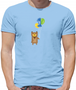 1st Birthday Bear T Shirt