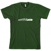 Evolution Of Man Car Mechanic T Shirt
