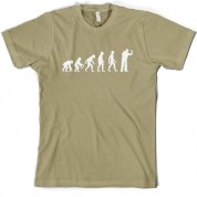Evolution of Man Darts T Shirt