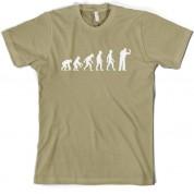 Evolution of Man Darts T Shirt