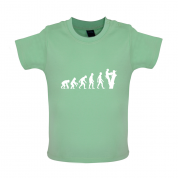 Evolution Of Man Tree Surgeon Baby T Shirt