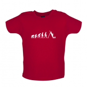 Evolution Of Man Painter Baby T Shirt