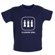 Flower Girl Baby T Shirt