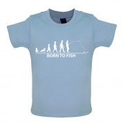Born to Fish Baby T Shirt