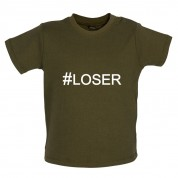 #Loser (Hashtag) Baby T Shirt