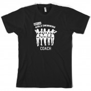 Amateur Girls Swimming Coach T Shirt