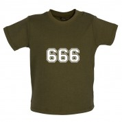 666 College Baby T Shirt