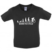 Born to Cycle Kids T Shirt