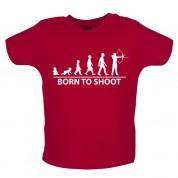 Born to Shoot Baby Archery T Shirt