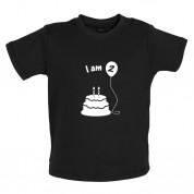 I Am 2 Baby Birthday T Shirt