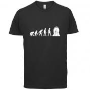Evolution Iron Throne T Shirt
