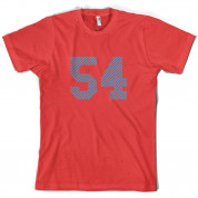 54 Electric Pin Stripe T Shirt