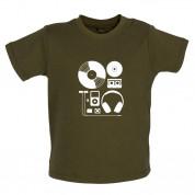 Evolution of Music Hardware Baby T Shirt