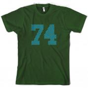 74 Electric Pin Stripe T Shirt