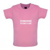 48 Years Of Hurt Baby T Shirt