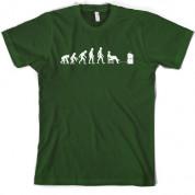 Evolution of Man Gamer T shirt